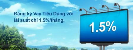 Vay vốn ngân hàng CitiBank lãi suất 1,5%/tháng