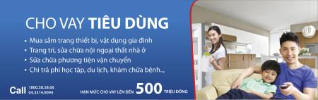 Vay vốn tiêu dùng ngân hàng GPbank đến 500 triệu