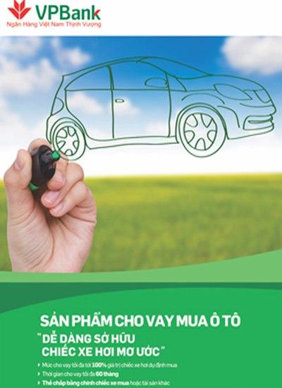 Vay tiêu dùng mua ô tô VPBank nhanh chóng