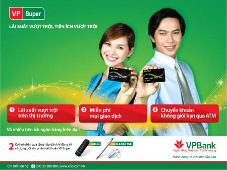 Vay tín chấp theo lương tại ngân hàng VPBank lãi cực thấp