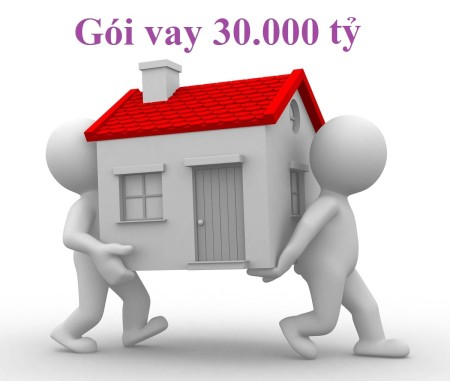Vay thế chấp mua nhà 30000 tỷ hỗ trợ nhà ở của Chính phủ