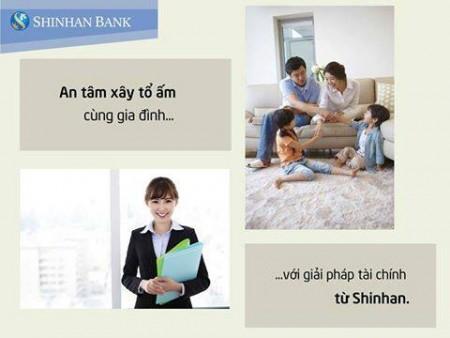 Vay vốn ngân hàng Shinhan nhận quà tặng