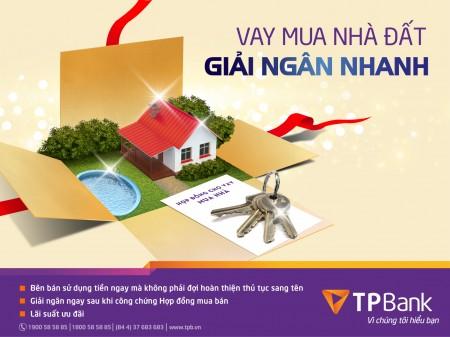 Thủ tục vay thế chấp 1 tỷ mua nhà ngân hàng Tiên Phong