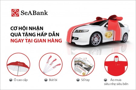 Vay khai trương mua ô tô tại ngân hàng Seabank